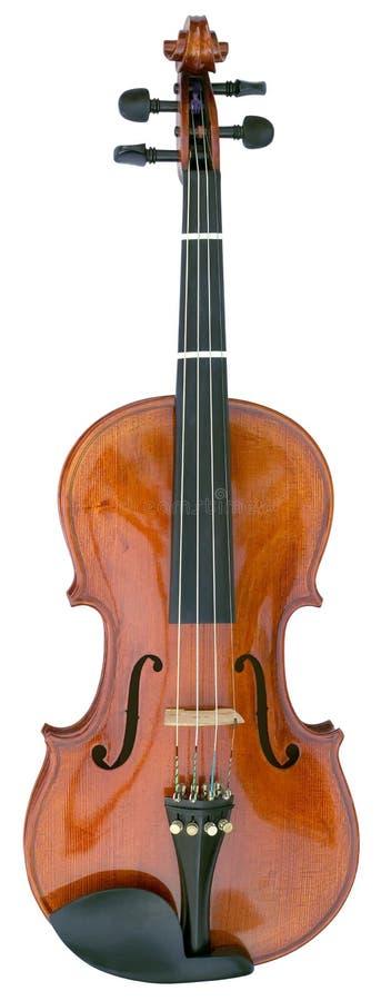Recorte de Fidle del violín foto de archivo
