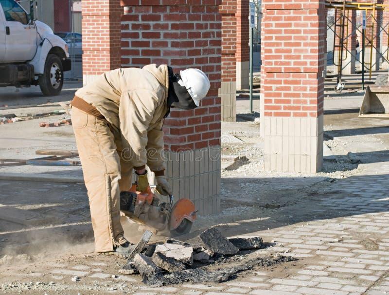 Recorte del asfalto foto de archivo libre de regalías