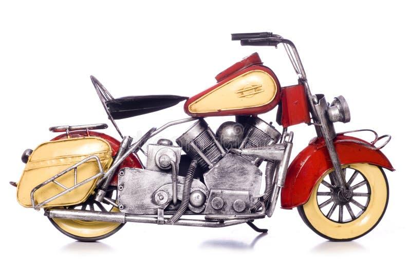 Recorte del modelo del metal de la moto fotografía de archivo libre de regalías