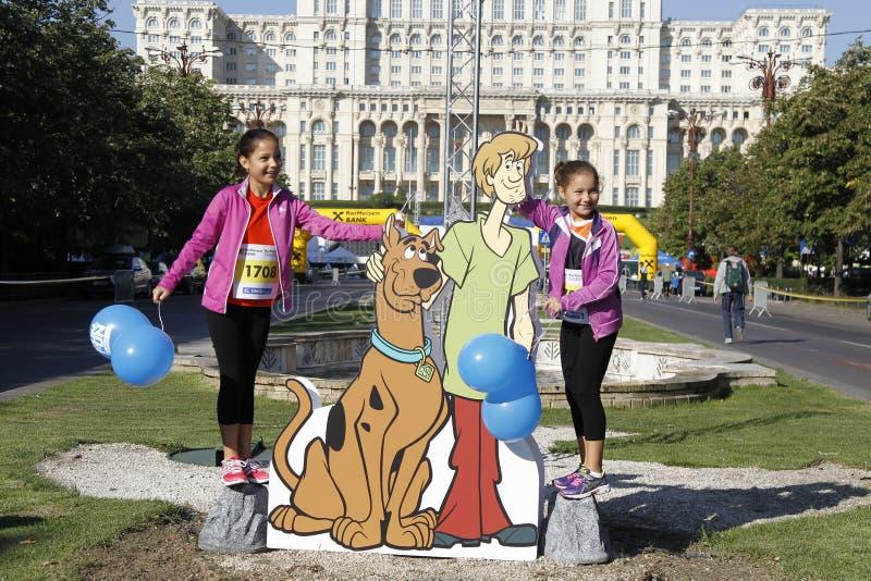 Recorte Scooby-Doo fotos de archivo