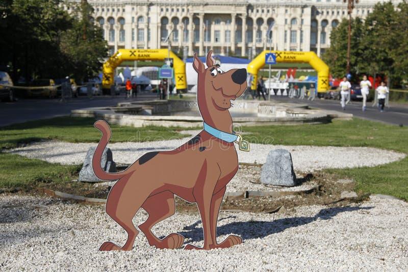Recorte Scooby-Doo foto de archivo