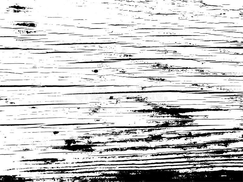 Recouvrement grunge en bois de texture Fond de vecteur illustration libre de droits