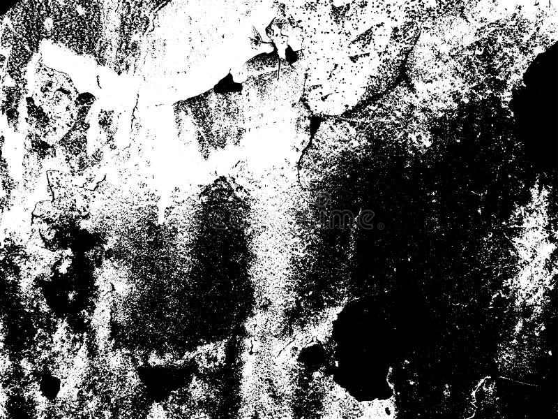 Recouvrement grunge foncé de texture Fond de vecteur illustration libre de droits