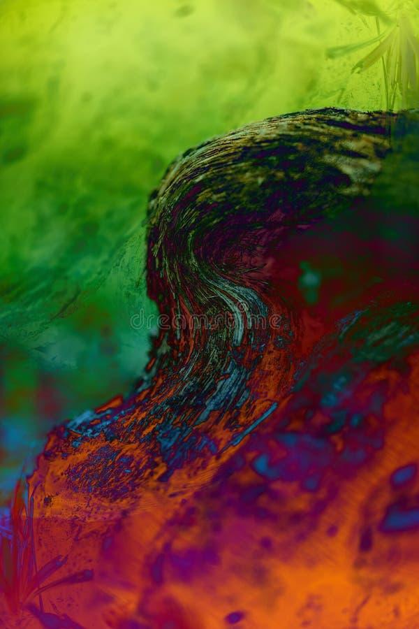 Recouvrement multicolore images libres de droits