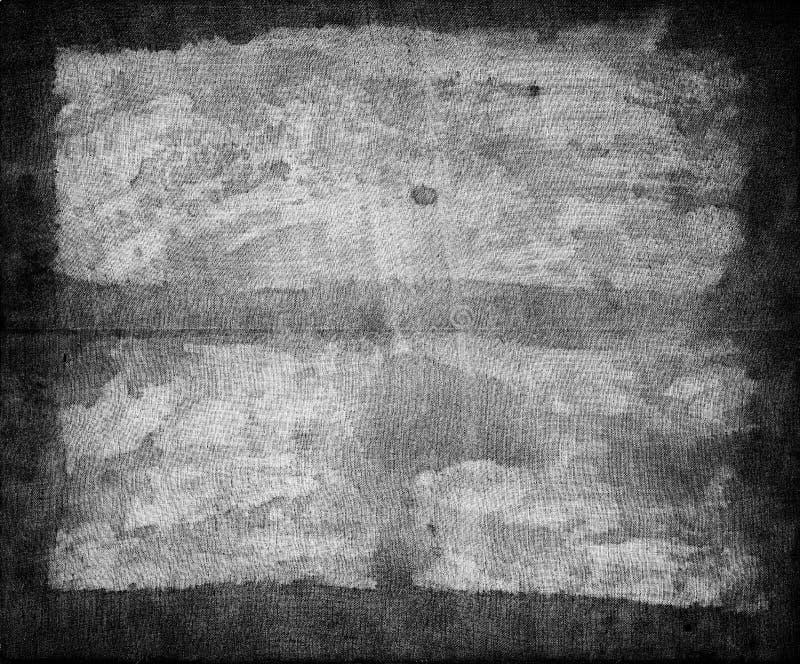 Recouvrement noir et blanc de texture images stock