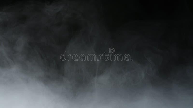 Recouvrement réaliste de brouillard de nuages de fumée de glace carbonique photo libre de droits