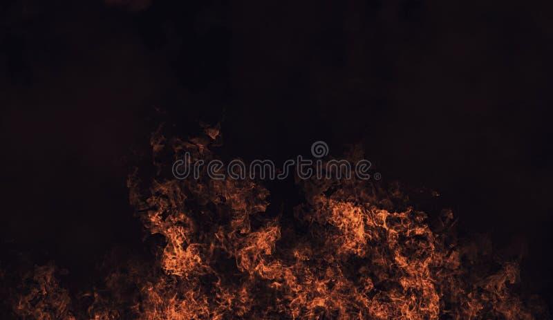 Recouvrements oranges abstraits de texture de fumée de mystère d'ith Élément de conception photos stock