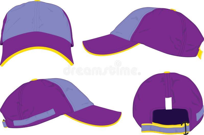 Recouvrez le chapeau. illustration de vecteur