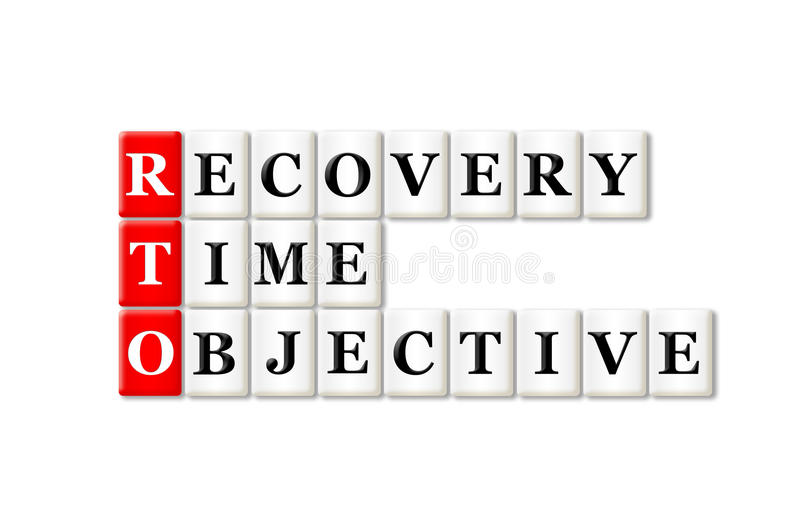 Download Recovery Time Objective stock photo. Image of service - 41664984