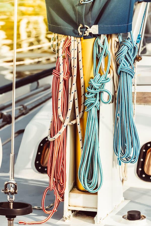 Recreatief jachtdetail stock fotografie
