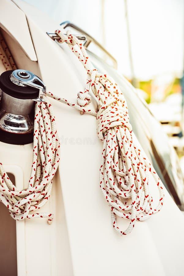 Recreatief jachtdetail stock afbeelding