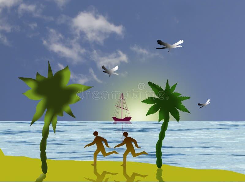 Recreation vector illustration
