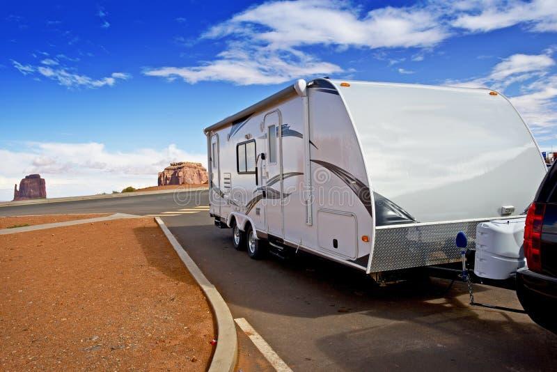 Recreational Vehicle RV stock image