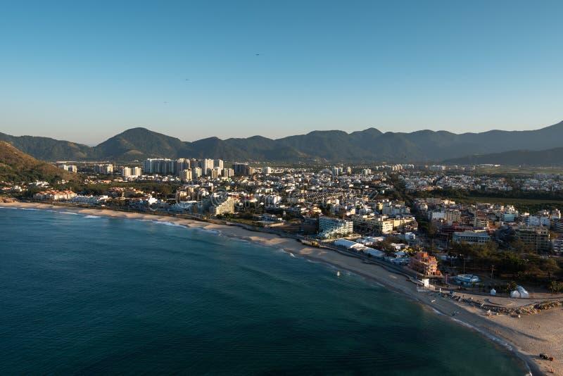 Recreiogebied in Rio royalty-vrije stock afbeelding