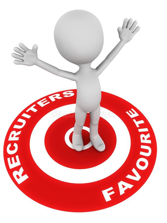 Recruiters συμπάθεια ελεύθερη απεικόνιση δικαιώματος