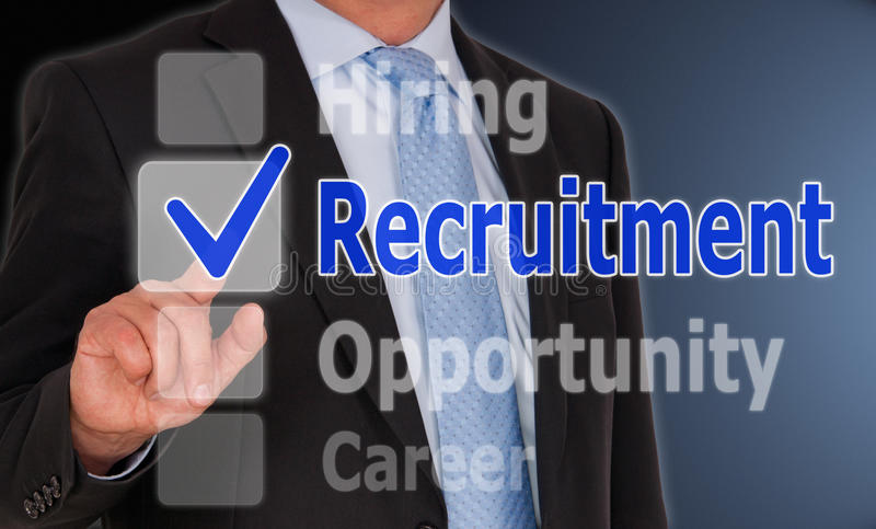recruitment foto de stock royalty free