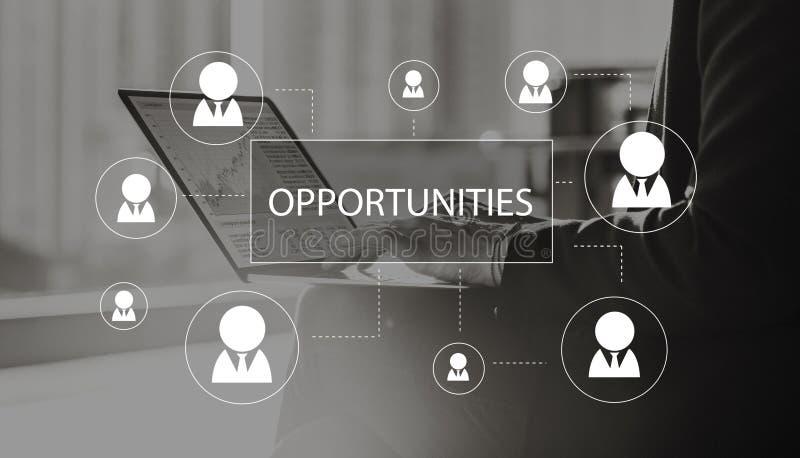 Recruitment Hiring Career job Employment Concept stock photography
