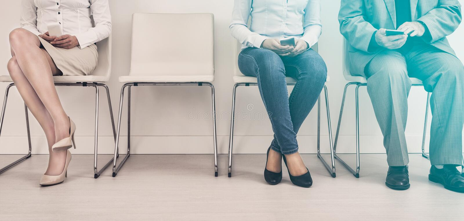 Recruitment recruiting recruit hiring hire - concepts. Recruitment recruiting hire recruit hiring recruiter interview employment job human room stress stressful royalty free stock photo