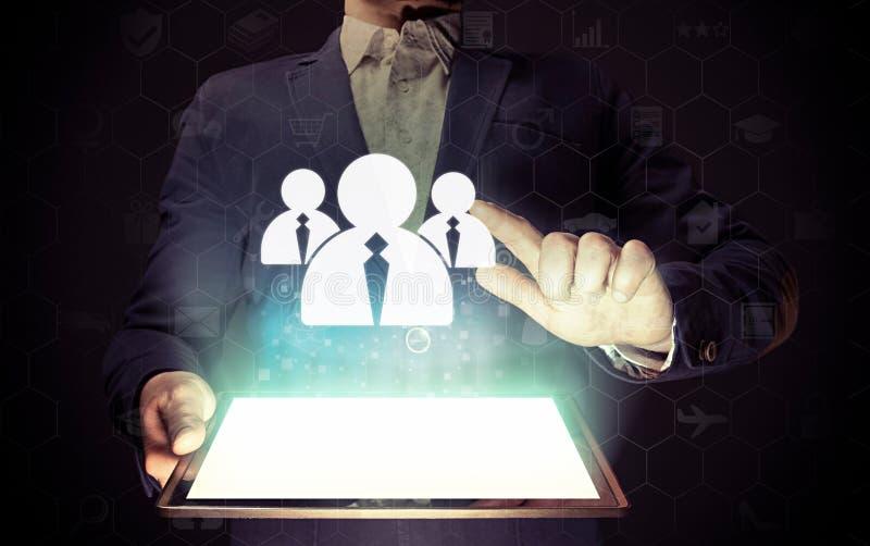 Recrutamento do negócio ou conceito de aluguer da foto imagens de stock