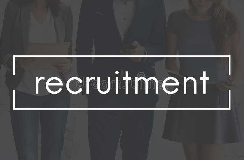 Recrutement Job Position Employment Manpower Concept photos libres de droits