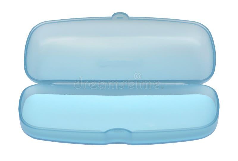 Rectángulo azul dulce vacío de los vidrios foto de archivo libre de regalías