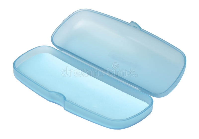 Rectángulo azul dulce vacío de los vidrios imágenes de archivo libres de regalías