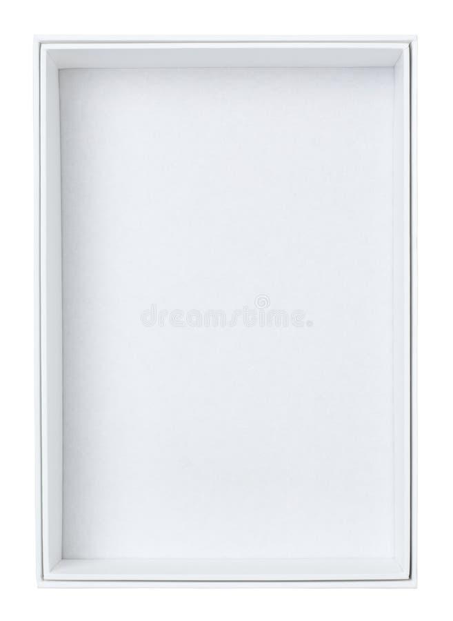 Rectángulo blanco fotografía de archivo libre de regalías