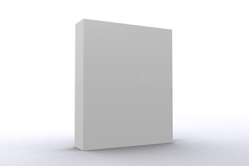 Rectángulo blanco del paquete de programas informáticos libre illustration