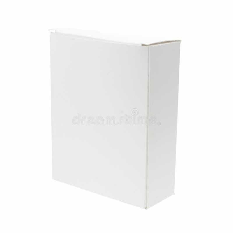 Rectángulo blanco en blanco fotografía de archivo libre de regalías