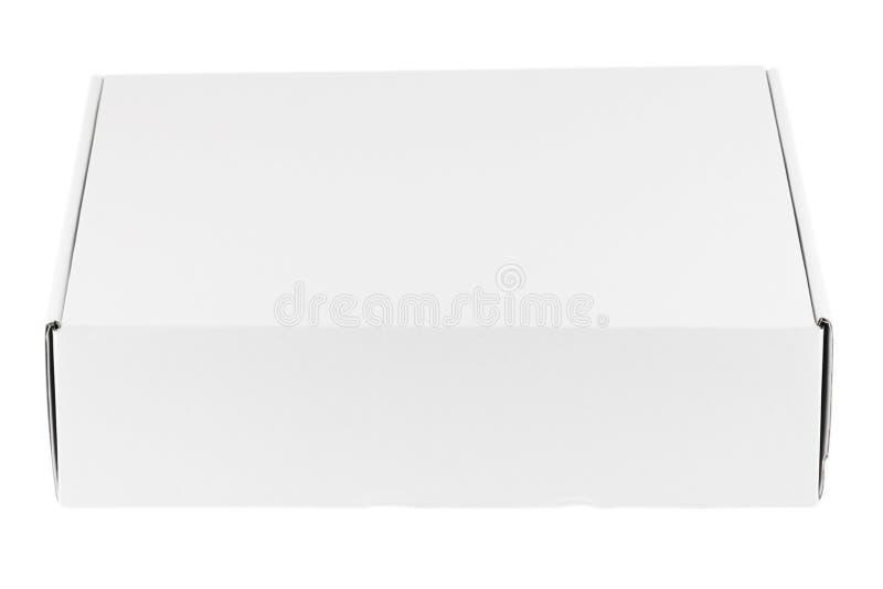 Rectángulo blanco en blanco fotos de archivo
