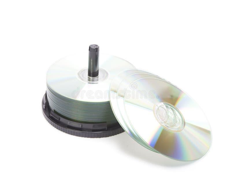 Rectángulo CD imágenes de archivo libres de regalías