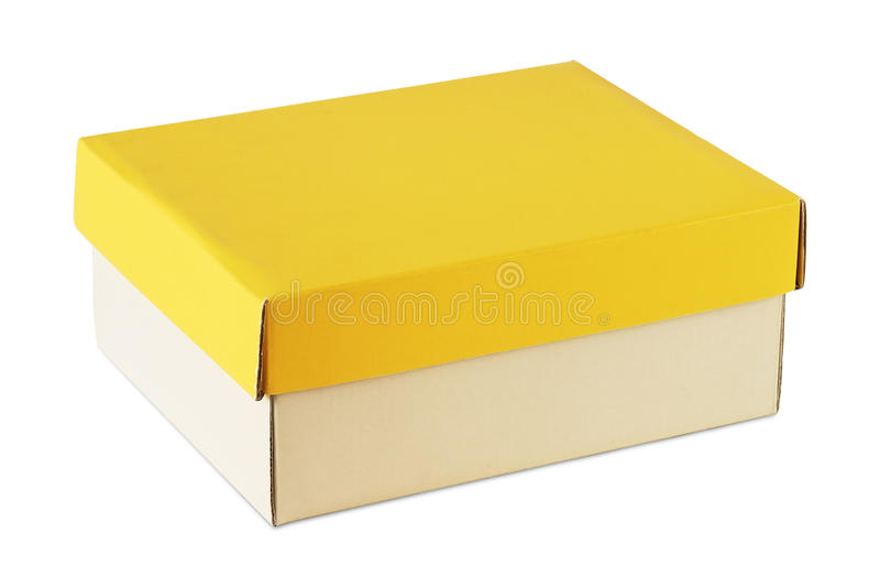 Rectángulo de Carboard fotos de archivo libres de regalías