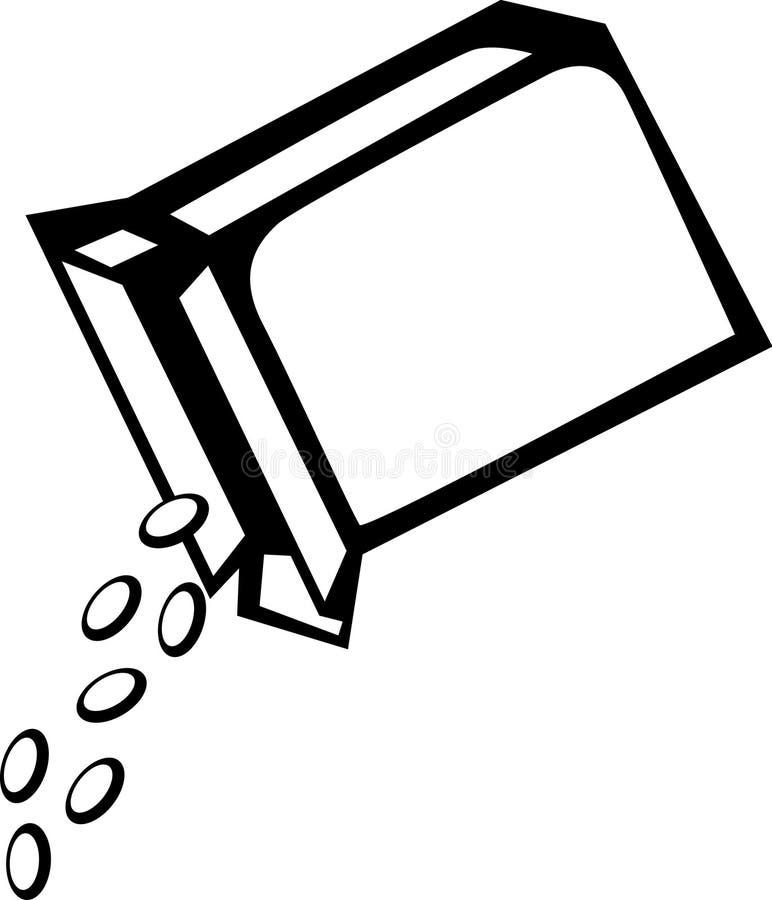 Rectángulo de cereal libre illustration