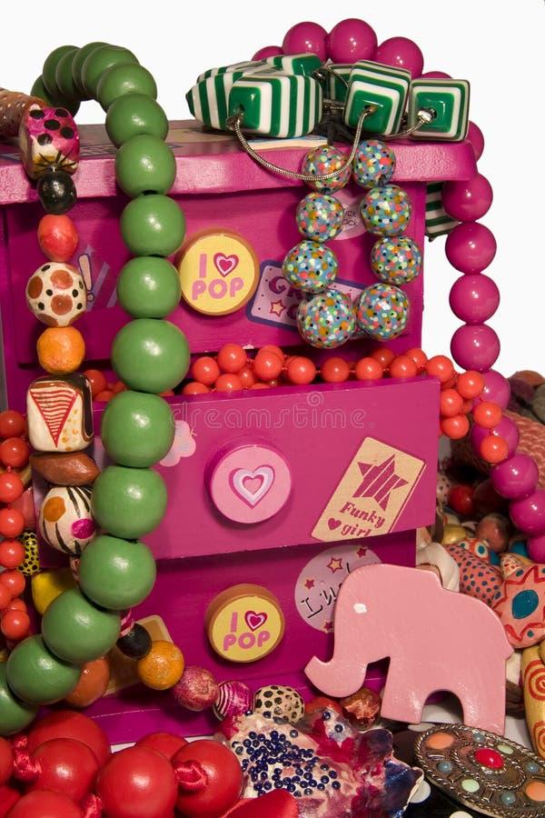 Rectángulo de joyería imagen de archivo libre de regalías