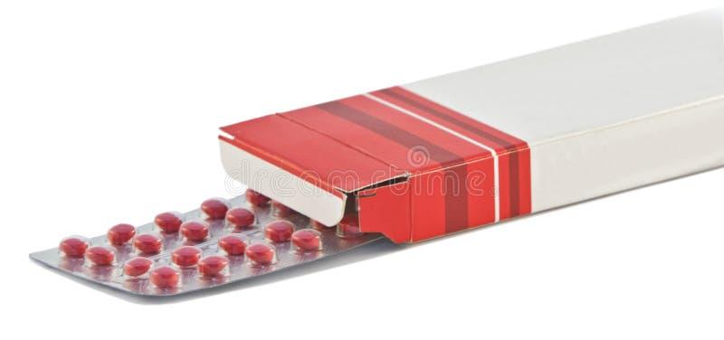 Rectángulo de las píldoras imágenes de archivo libres de regalías