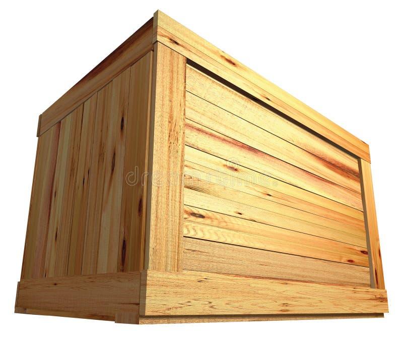 Rectángulo de madera ilustración del vector