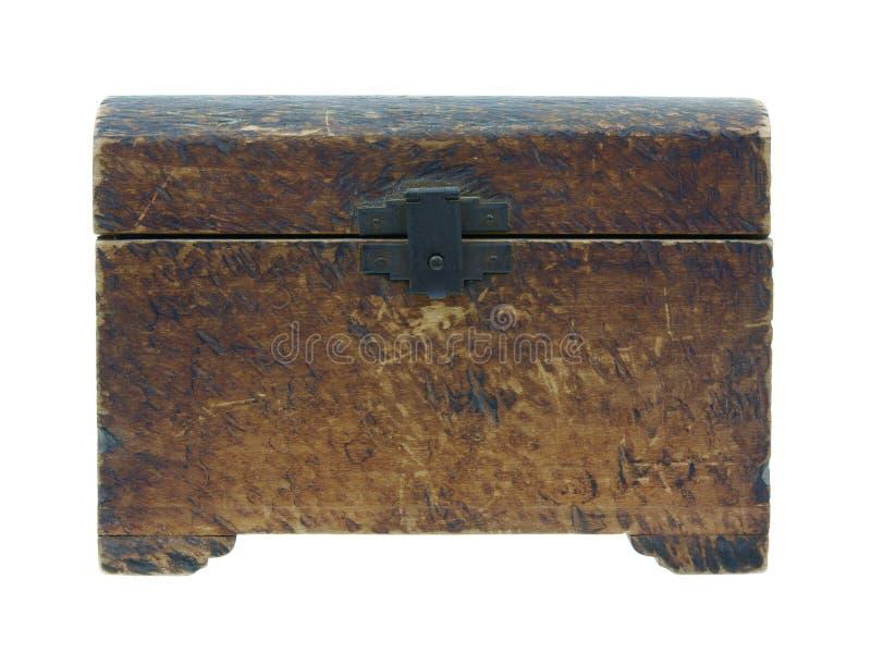 Rectángulo de madera de la vendimia fotografía de archivo libre de regalías