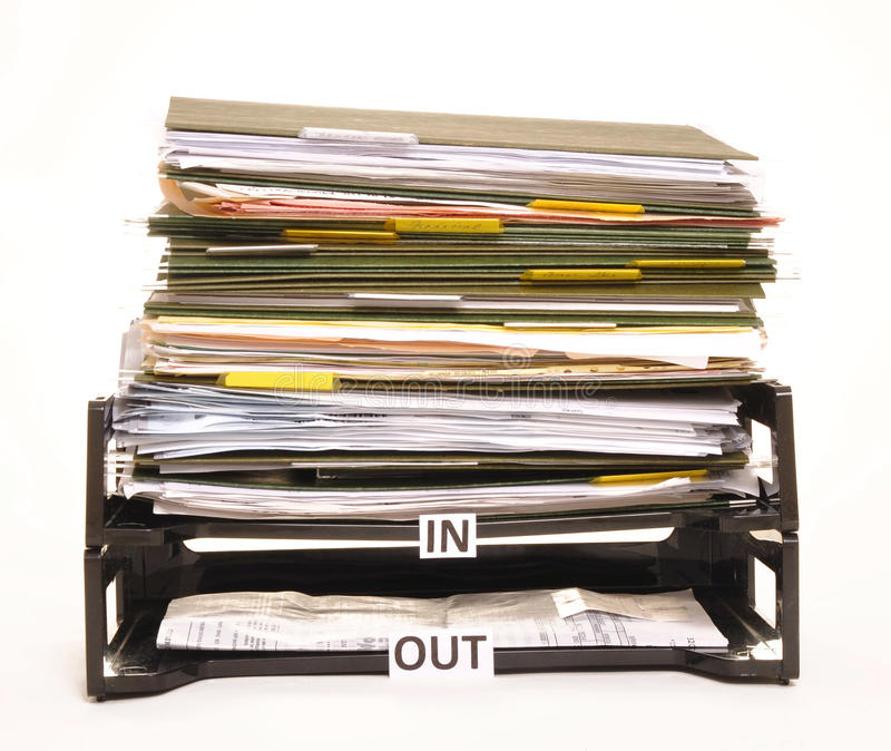 Rectángulo de In/Out imagen de archivo libre de regalías