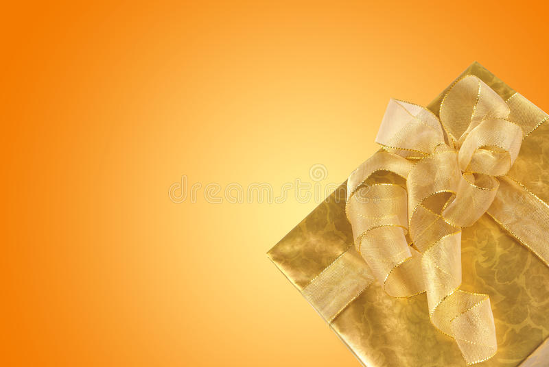 Rectángulo de regalo fotos de archivo
