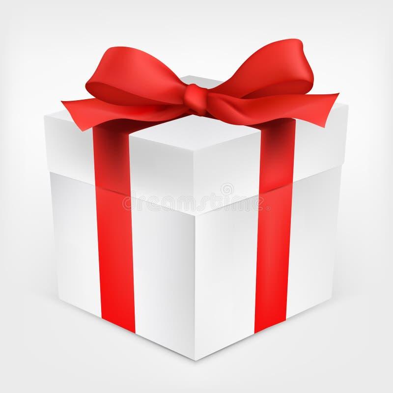 Rectángulo de regalo stock de ilustración