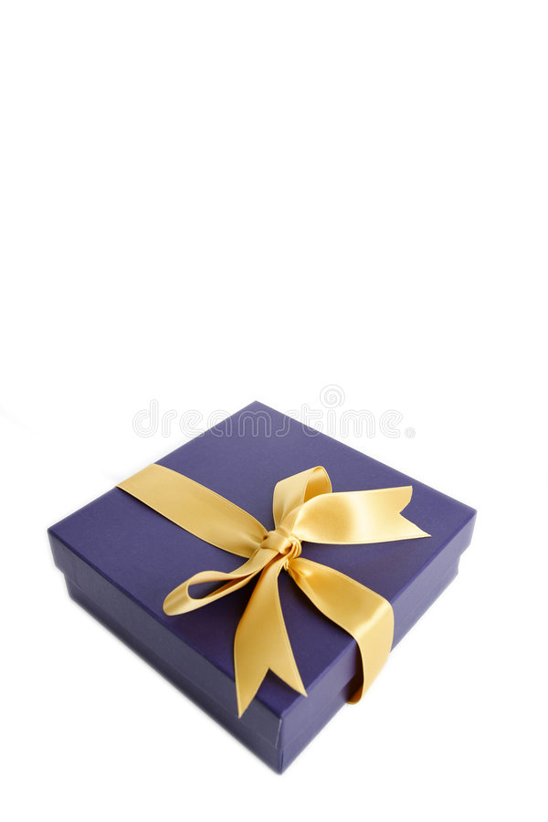 Rectángulo de regalo imagen de archivo