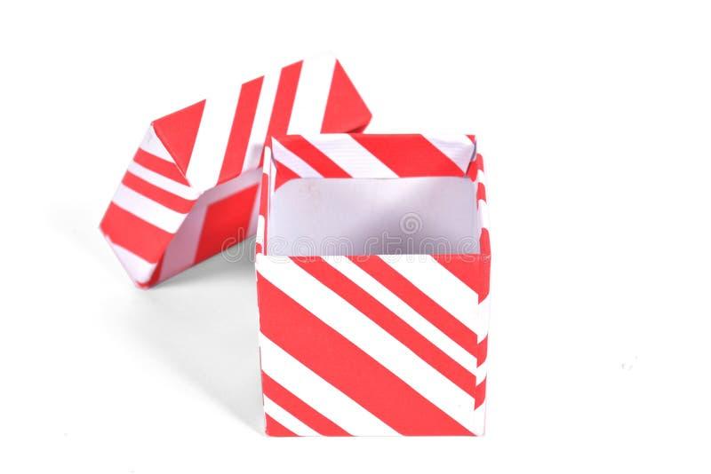 Rectángulo de regalo aislado fotografía de archivo