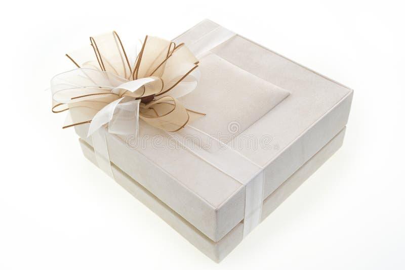 Rectángulo de regalo de lujo imágenes de archivo libres de regalías