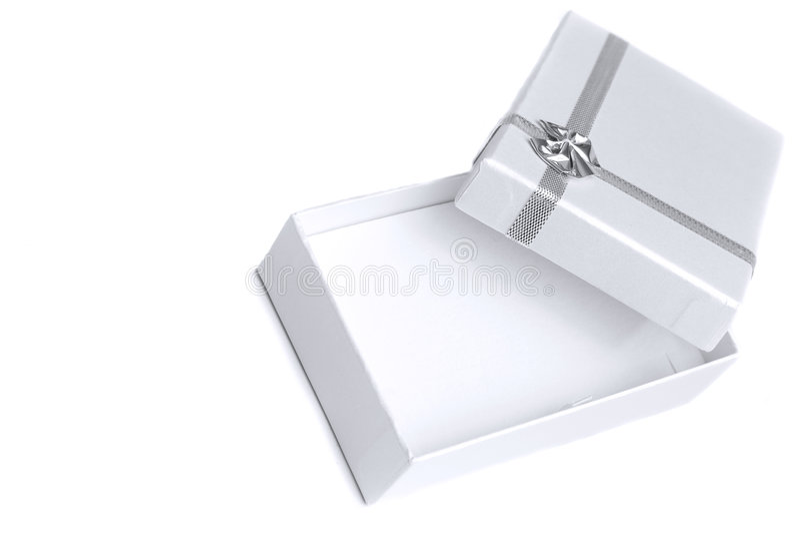 Rectángulo de regalo perfecto imagen de archivo