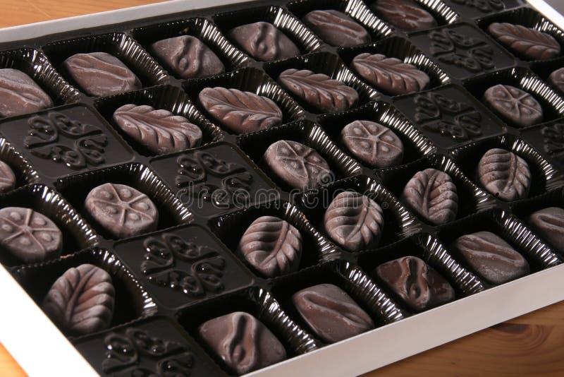 Rectángulo del chocolate foto de archivo libre de regalías