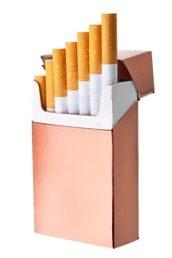 Rectángulo del cigarrillo fotografía de archivo libre de regalías