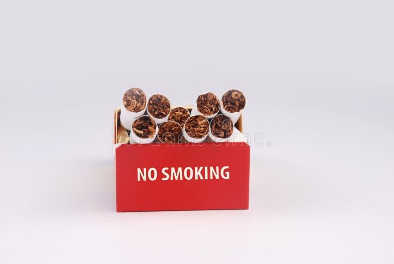 Rectángulo del cigarrillo foto de archivo libre de regalías