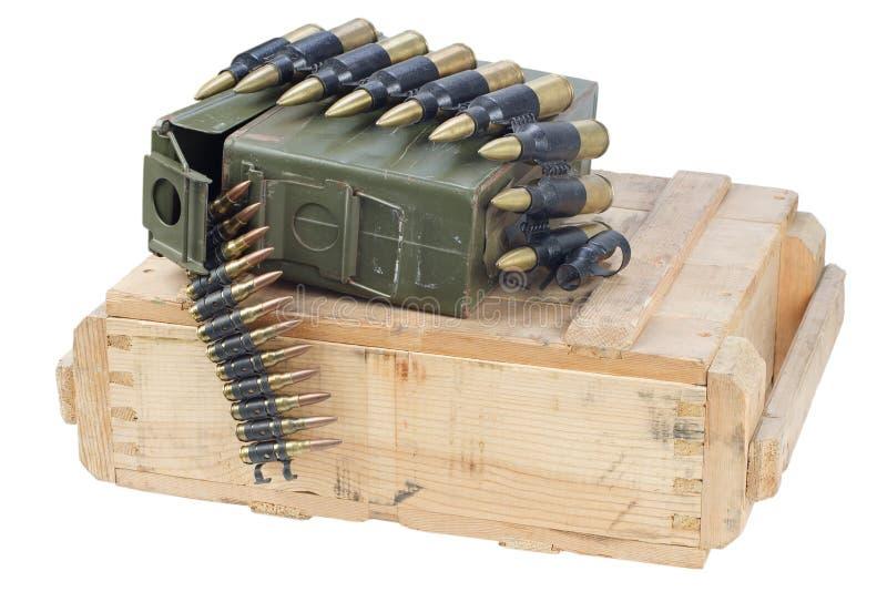 Rectángulo del ejército de munición fotos de archivo libres de regalías