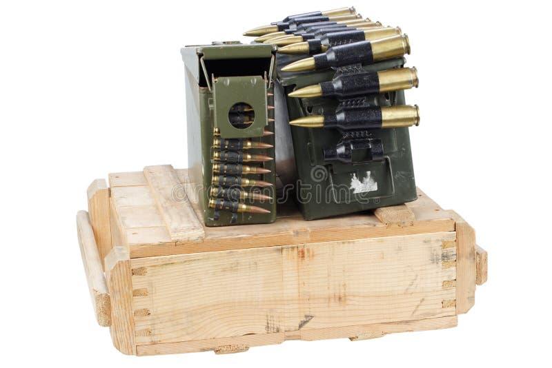 Rectángulo del ejército de munición imágenes de archivo libres de regalías