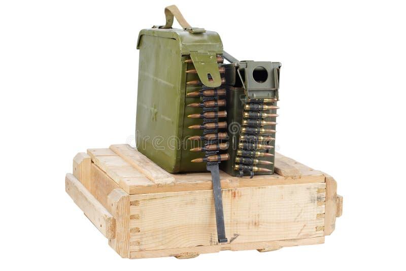 Rectángulo del ejército de munición fotografía de archivo libre de regalías